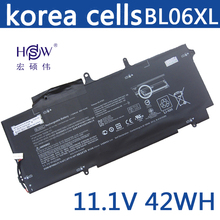 11.1V 42Wh Original BL06XL battery for HP Elitebook Folio BL06042XL HSTNN-DB5D HSTNN-W02C 722236-2C1 722236-171 цена и фото