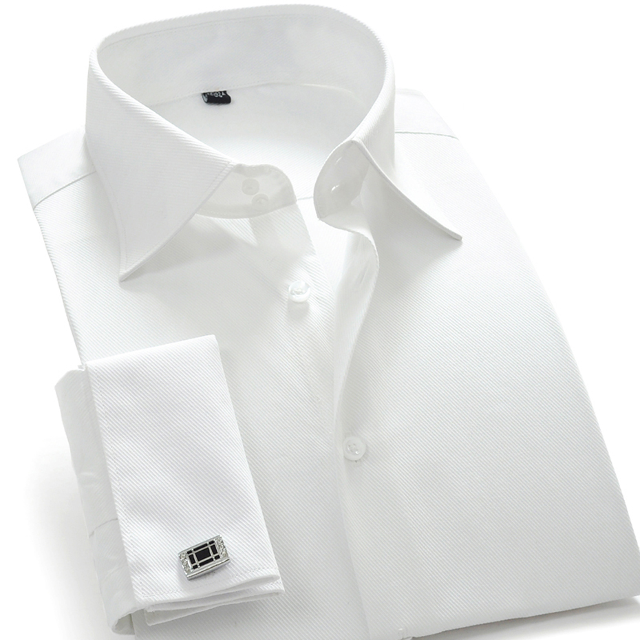 100 cotton french style men 39 s clothing fashion brand for 100 cotton dress shirt