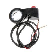 """22 мм 7/"""" рупорный переключатель Руля Мотоцикла, кнопка подключения динамика, оборудование для электрического велосипеда, запасные части"""