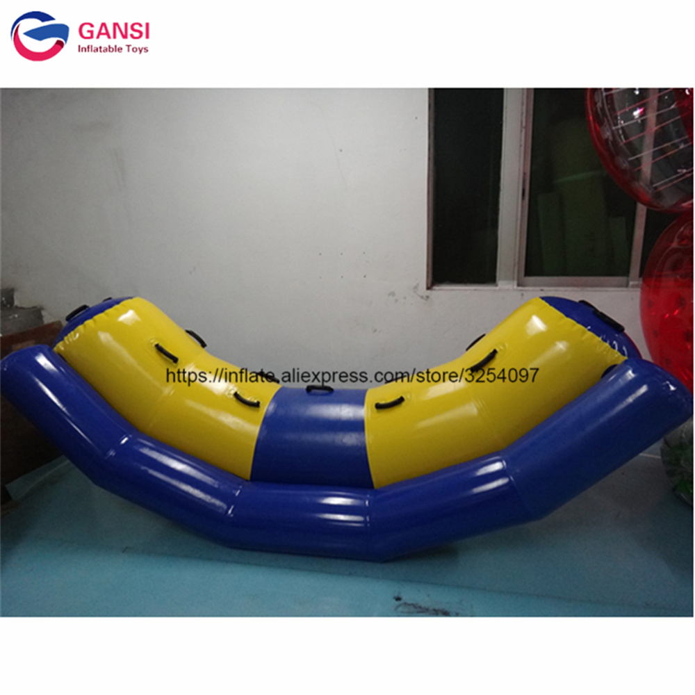Outdoor Fun & Sports Gansi 3*1.2m Inflatable Water Seesaw High Quality Single Rocker Inflatable Water Tube For 2 Persons Cheap Inflatable Water Toys Vivid And Great In Style