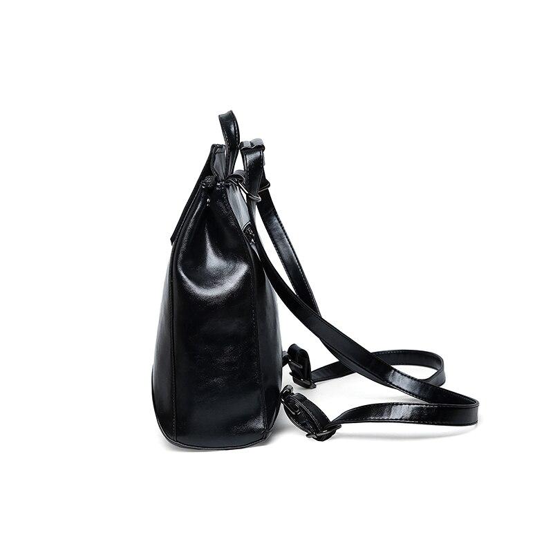 New Fashion Women Backpack High Quality Youth Leather Backpacks For Teenage Girls Female School Shoulder Bag Bagpack Mochila