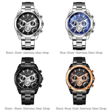 Top Brand Luxury Mens Watch Full Steel Sport Watches Fashion Quartz Military Wrist Watch Waterproof