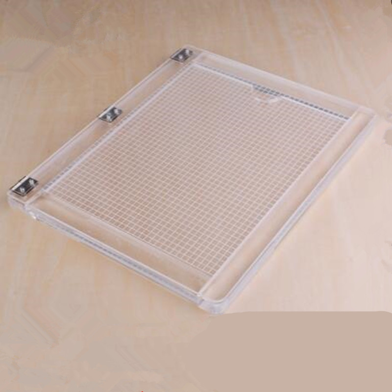 Image 2 - Notebook type acrylic positioner rubber colour process device transparent acrylic printing positioner-in Stamps from Home & Garden