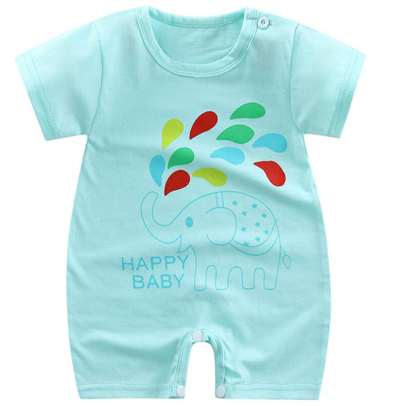 new born baby boy clothes summer baby boy romper short sleeve newborn boy rompers clothing toddler romper girl costume pajamas
