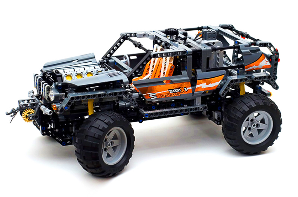 LEPIN 20030  640pcs Technic Series Ultimate Series The Off-Roader Set Model Building Block Diy Brick Toy For children Gift 8297 lepin 20030 1132pcs technik ultimate off roader cars legoingly 8297 sets building nano block bricks toys for boy gifts