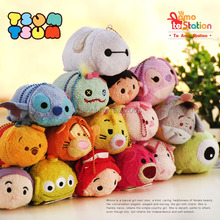 Movie Series Tsum Tsum Plush Toy Toy Story Mini Jessie Hamm Monsters University Mike Screen Cleaner Stuffed Toy Original Gift(China)