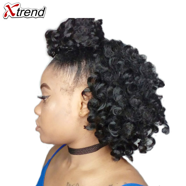 Xtrend 8inch 20roots Jamaican Bounce Jumpy Wand Crochet Hair