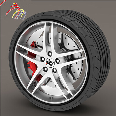 Car-Styling Wheel Hub Rim Protection Sticker For Toyota Camry Corolla RAV4 Yaris Highlander Land Cruiser PRADO Vios Vitz Reiz