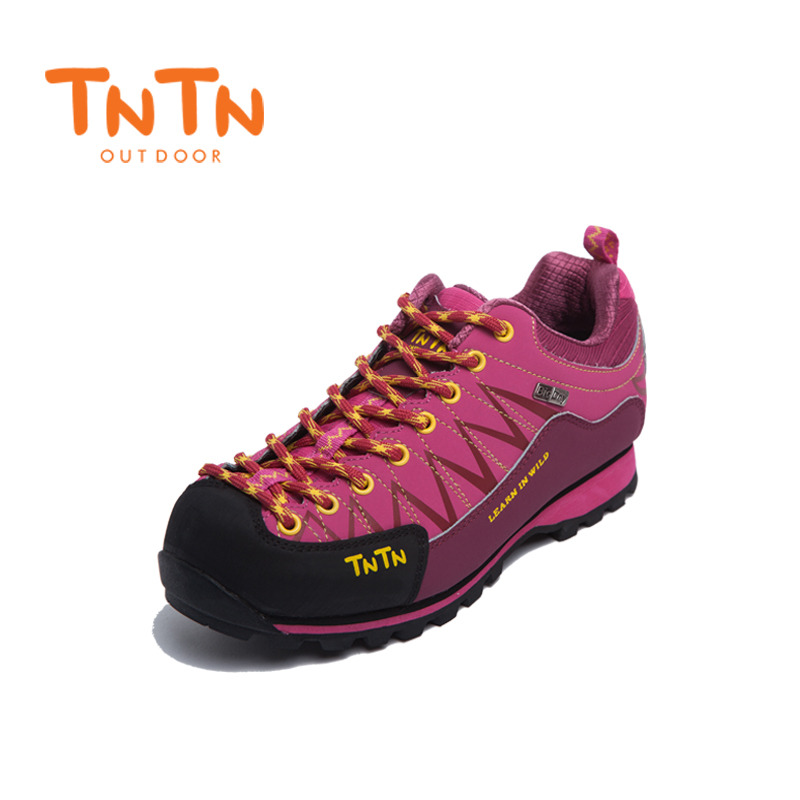 Hiking Shoes Waterproof Cowleather Trekking Climbing Trail Athletic Sports Mountain 100% High Quality Leisure Walking Womens