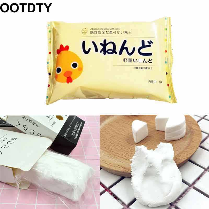 1 Piece New Chicken Soft Paper Clay Lightweight Modeling Air Dry Ultralight Clay Mud Kids Toy Chicken White