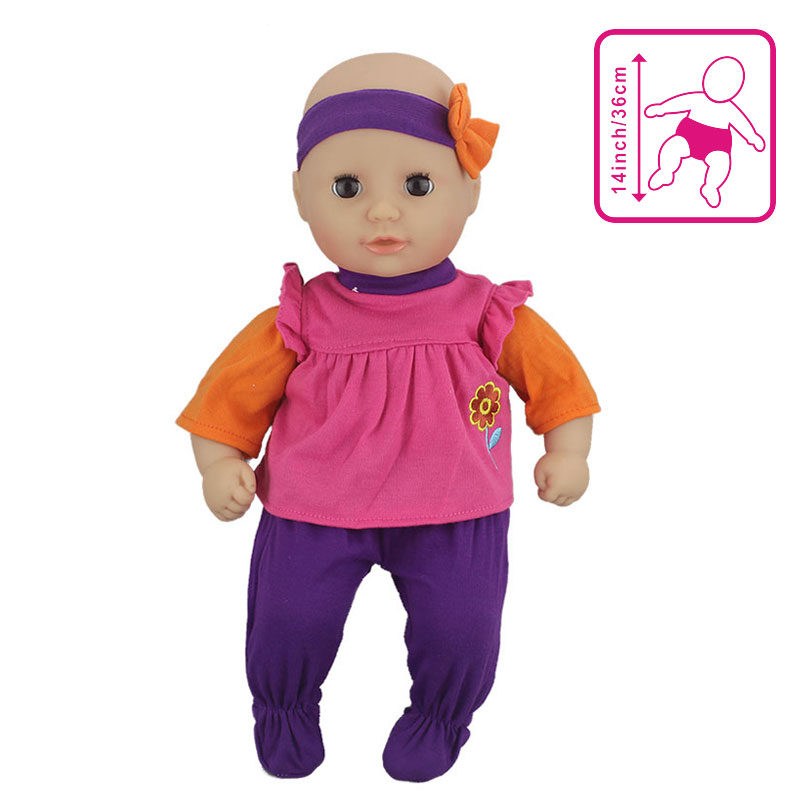 Outfit Wear For 36cm My Little Baby Annabell Doll 14 Inch Dolls Clothes