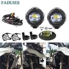 FADUIES для KTM Adventure 1090,1190, 1290, светодиодный вспомогательный противотуманный светильник для Мотоцикла BMW R1200GS F800GS, противотуманный светильник для вождения s