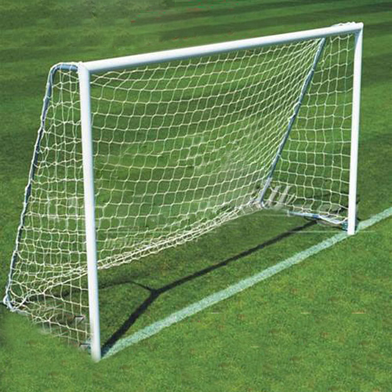 TOP!-Football Soccer Goal Post Net 2.4x1.8m For Sports Training Match Outdoor White