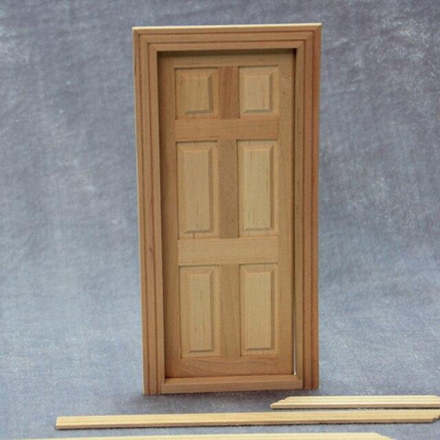 Porta In Legno Fai Da Te Casa Delle Bambole In Miniatura Panel 1 12