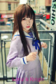 Cosplay anime japonês noragami hiyori iki cosplay costume dress outfit uniforme escolar terno de marinheiro