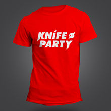 KNIFE PARTY T-SHIRT - DJ - CLUBWEAR - STUDIO - EDM - ELECTRO - HOUSE 8 COLOURS New T Shirts Funny   Tops free shipping electro house 2015 2 cd