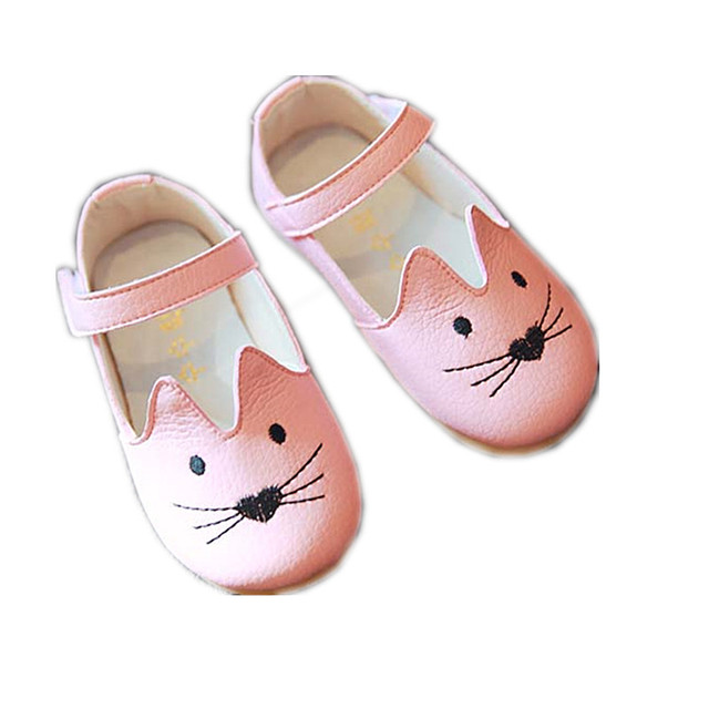 2017 spring autumn girls genuine leather shoes boys flat shoes kids white flats baby shoes toddler black summer sandals