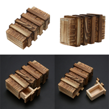 Puzzle Box With Secret Drawer