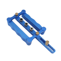 Self Centering Dowelling Jig Round Hole Tenon Hole Punchers Locator Precise Drilling Woodworking Tools
