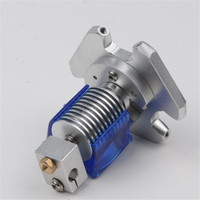 1.75/3mm Delta Kossel V6 single M3 fisheye effector hotend full kit with Aluminum Alloy metal M3 fisheye effector