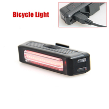 LED Waterproof Tail Light Bicycle Taillight for USB Rechargeable Reflector Rear Lights Bike Lamp Accessories