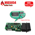Original OKI/Bluetooth Чип + + VAS 5054A 5054 с ОДИС 3.03/3.12 VAS5054A VAS5054 для VW/AUDI/SEAT/SKOD-A OBD2 Диагностический инструмент
