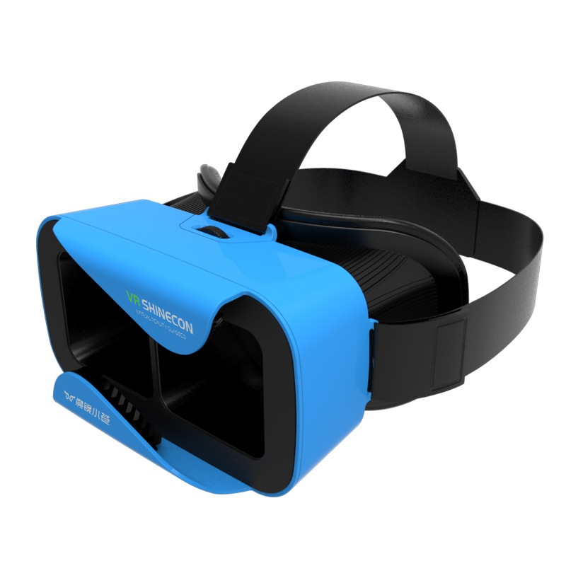 2017 vr shinecon google cartón versión pro vr realidad virtual gafas 3d + smart