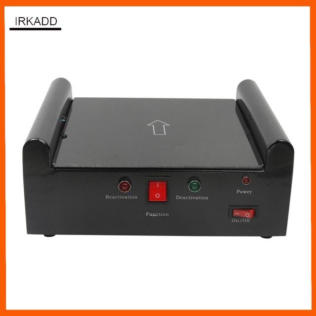 ספריית אבטחת מערכת EM רצועת deactivator/activator ספר תג נטרול מגנטיות מכונה אינפרא אדום חיישנים