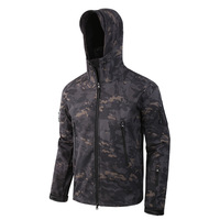 New Clothing Autumn Men's Military Camouflage Fleece Jacket Army Tactical Clothing Multicam Male Camouflage Windbreakers