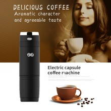 Protable Electric Manual Capsule Coffee Machine Reusable Hand Pressure Capsules Espresso Maker For Travel Camping