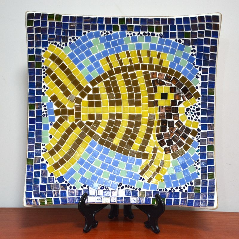 Exelent Glass Mosaic Wall Art Component - Art & Wall Decor ...