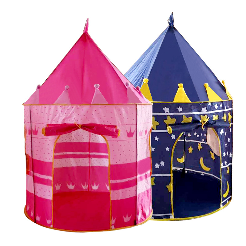 80pcs/lot Ocean Ball Play Tent Baby Ball Pool Tipi Tent For Kid Pink Blue Children Tent Play House Toy Tents Easy Babysitter