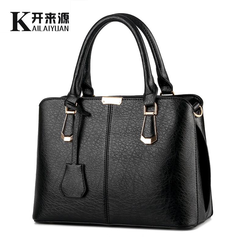 KLY 100% en cuir véritable femmes sac à main 2019 nouveau doux mode sac à main bandoulière épaule sac à main femmes messenger sacs