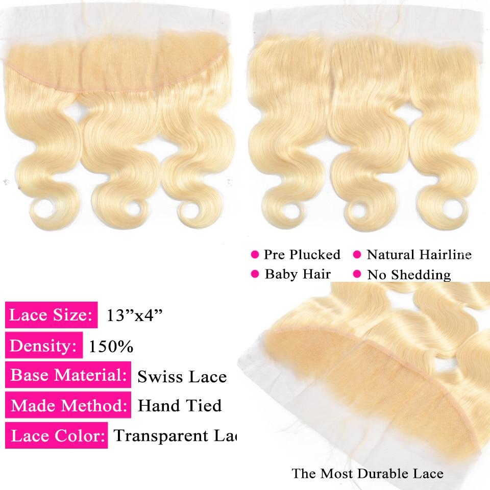 blonde bundles with closure 33