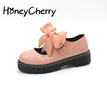 Lolita Small Shoes Summer Soft Sister Shoes Thick Bottom Japanese Women's Shoes Cute Round Head Student Shoes