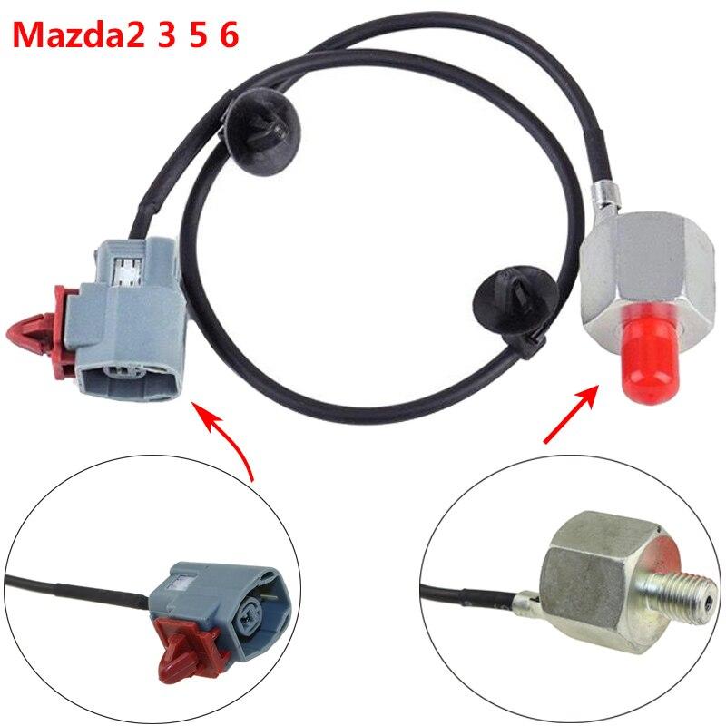 ZJ01-18-921 E1T50371 ZJ0118921 E001T50471 Détonation Capteur DE Cognement Pour Mazda 3 5 CR19 6 1.3 2.0 2.3 Mazda6 Mazda2 Mazda3 BK 2 DE