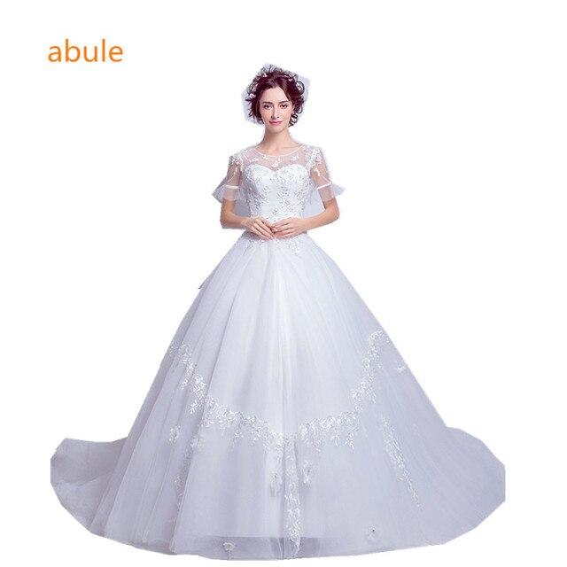 Abule Brautkleider 2018 Brautkleider Sexy Vintage lace up ...