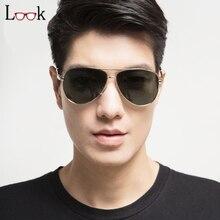 Hot Sale Polarized Pilot Sunglasses Men Zonnebril Retro Sun Glasses For Men font b Gafas b