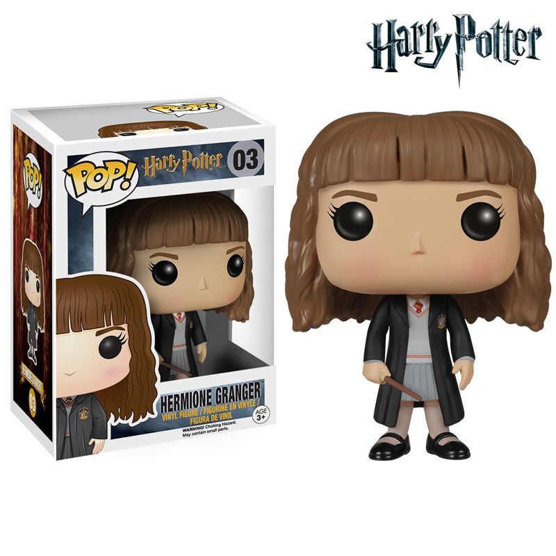 FUNKO POP Harri Potter Гермиона Грейнджер #03 виниловые фигурки Коллекция Модель игрушки для детей день рождения рождественские подарки