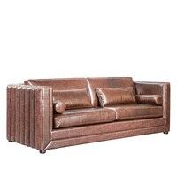 Sinofur Factory Bottom Price Leather Sofa Furniture Chesterfield Sofa