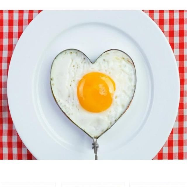 5 types Stainless steel form for frying eggs tools omelette mould device egg/pancake ring egg shaped kitchen appliances