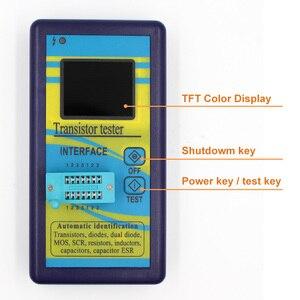 Image 5 - מיוחד גרסה רב תכליתי טרנזיסטור Tester 128*160 דיודה תיריסטורים קיבול הנגד השראות MOSFET ESR LCR מד