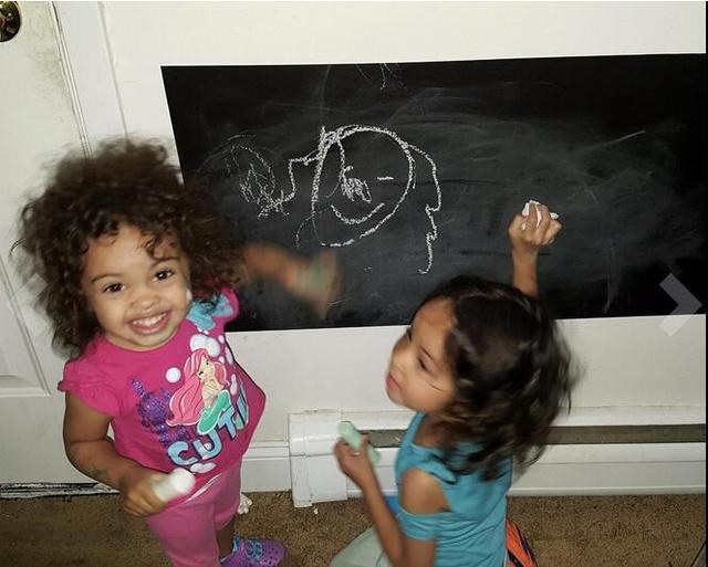Chalk Board Blackboard 60x200cm 6