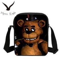Hynes Eagle Children School Bags Cartoon Five Nights at Freddy Schoolbag for Boys Girls Mochila Kids Shoulder Book Bag Gifts