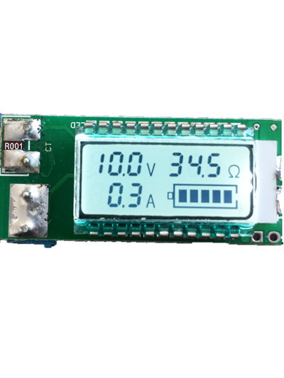 18650 26650 Lithium Battery Tester Voltage Current Capacity Detector LCD Meter