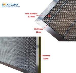 Image 2 - 1550*1550mm aluminum laser honeycomb table honeycomb platform laser machine parts special honeycomb for sheet material