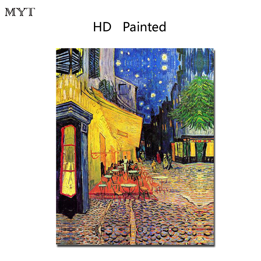 Fashion HD painting printed on canvas art wall picture Van Gogh for bed room sitting room home decor No Framed or Diy Framed