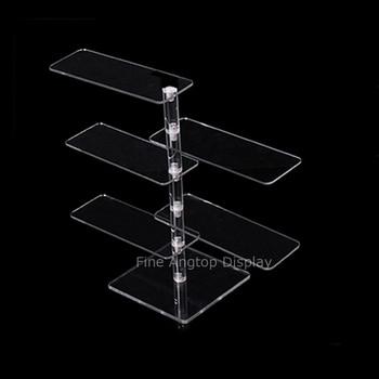 Acrylic 5 Tier Eyeglasses Sunglasses Stand Holder 5 tier desktop acrylic step display stand holder for small toys