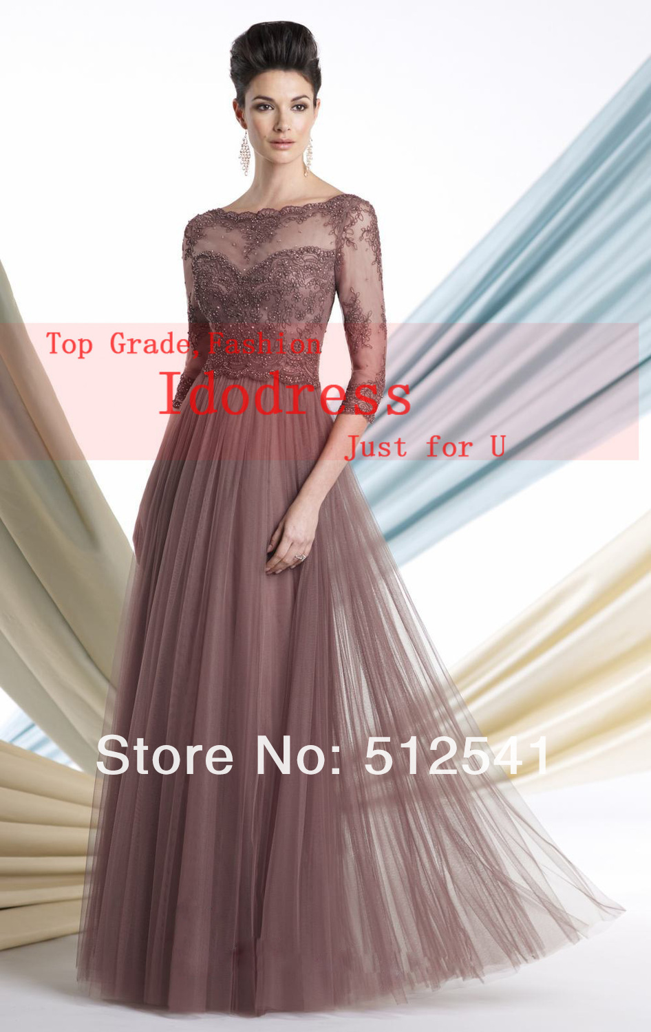 Aliexpress.com : Buy Gowns For Mother Of The Bride Plus Size ...
