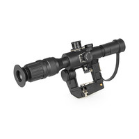 Tactical Red Illuminated 4x26 Type Riflescope For Dragonov SVD Sniper Rifle Series AK Rifle Scope For